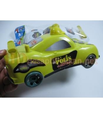 Şapkalı polis arabası plastik oyuncak R330
