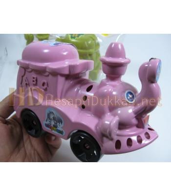 Sevimli filli tren ucuz plastik oyuncak R331