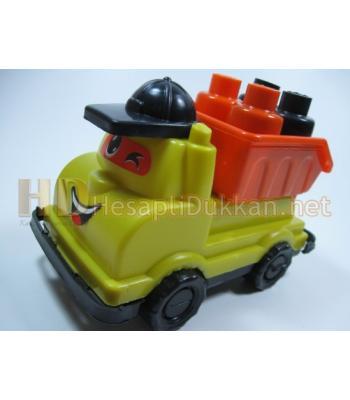 Şapkalı damperli şirin tüplü kamyon R343