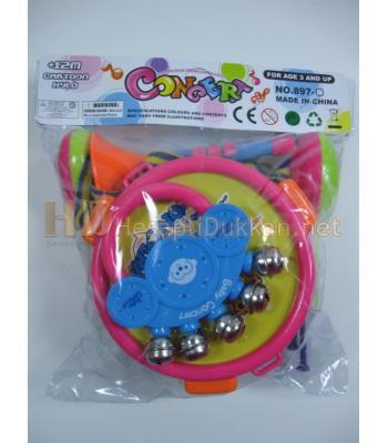Tek kişilik bando müzik aletleri oyuncak seti R365