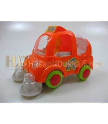 Çöp temizlik arabası renkli ışıklı oyuncak R389