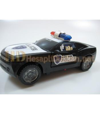 Dört farklı sirenli polis arabası R391