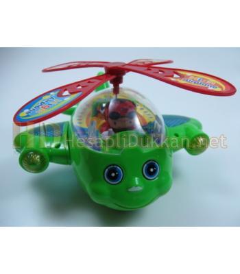 Müzikli ışıklı şirin helikopter R399