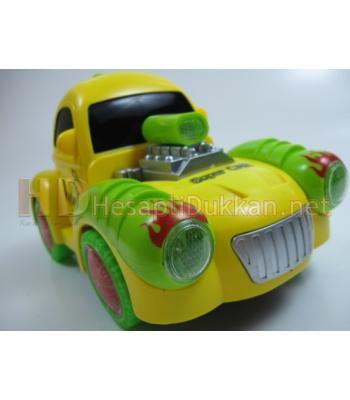 Renkli ışıklı tosbağa araba R417
