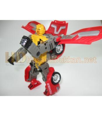 Şekil değiştiren robot araba R418