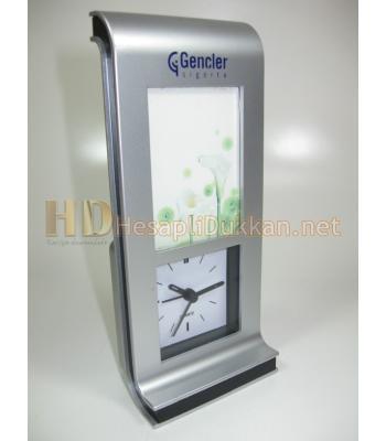 Resim çerçeveli alarmlı saat promosyon ürünü R508