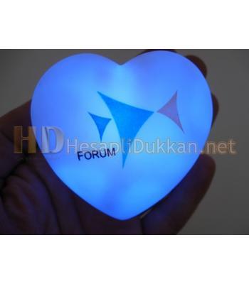 Renk değiştiren kalp promosyon R504