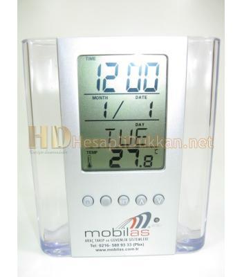 Dereceli ve saatli kalemlik promosyon R510