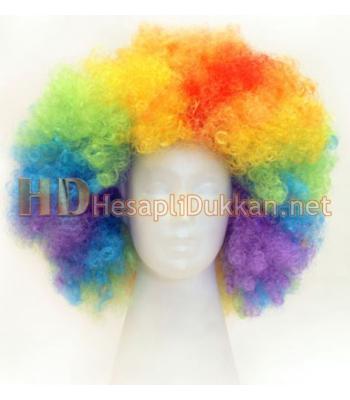 Bonus peruk gökkuşağı renkleri R541