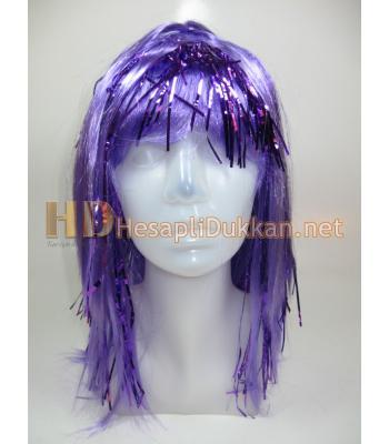 Yarı metalize peruk mavi R565