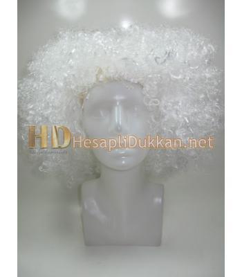 Beyaz bonus peruk R567