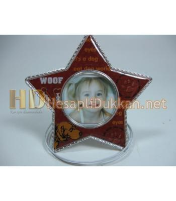 Yıldız şeklinde magnet çerçeve R586
