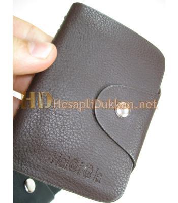 Deri kredi kartı organizer Promosyon R578