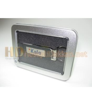 Metal ve deri usb bellek promosyon R614