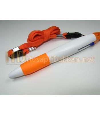 Boyun askılı iki renk kalem promosyon R615