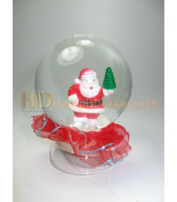 Noel baba fanus sulu ve ışıklı R670