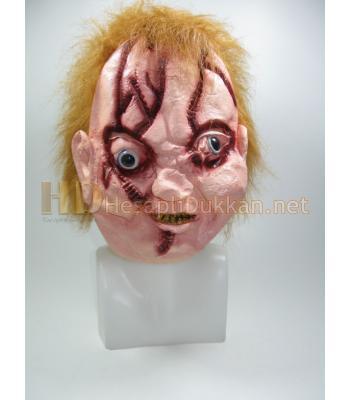Chucky maske yada ceki maske şaka malzemesi R681
