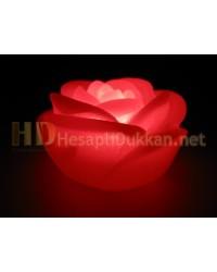 Kırmızı gül gece lambası sevgililer günü hediyeliği AL125