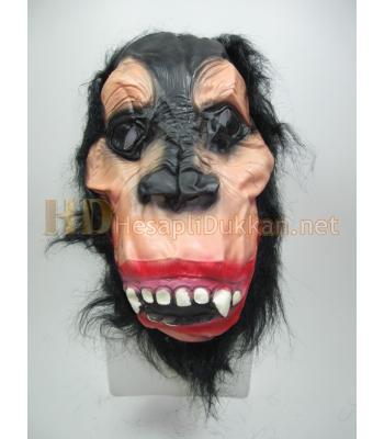 Sivri dişli goril maske AL137