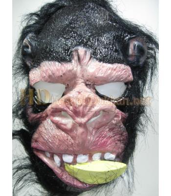 Ağzı muzlu goril maskesi R693