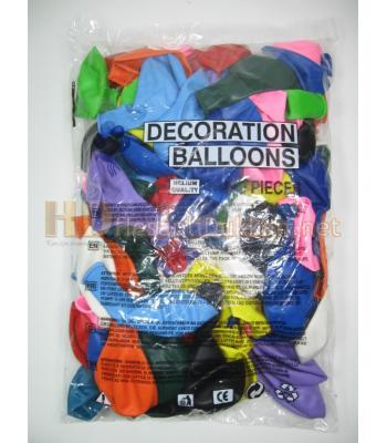 Karışık renk dekorasyon balonu AL146