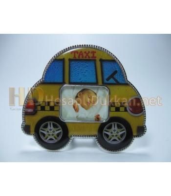 Taksi magnet bebek buzdolabı süsü R697