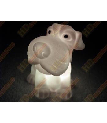 Renk değiştiren lamba köpek şeklinde R468