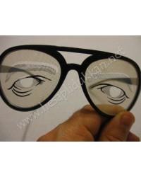Üzgün adam parti gözlüğü R98