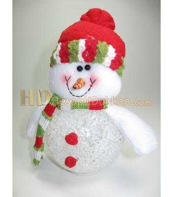 Renk değiştiren küçük kardan adam