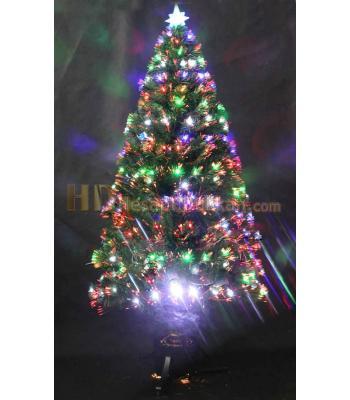 180 cm kendinden fiber ışıklı yılbaşı ağacı
