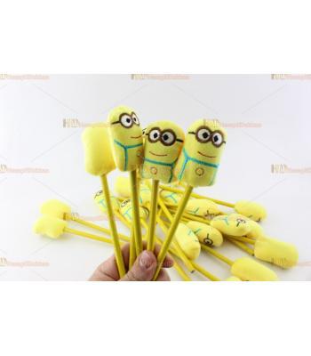 Toptan promosyon oyuncak peluş kalem minyonlar