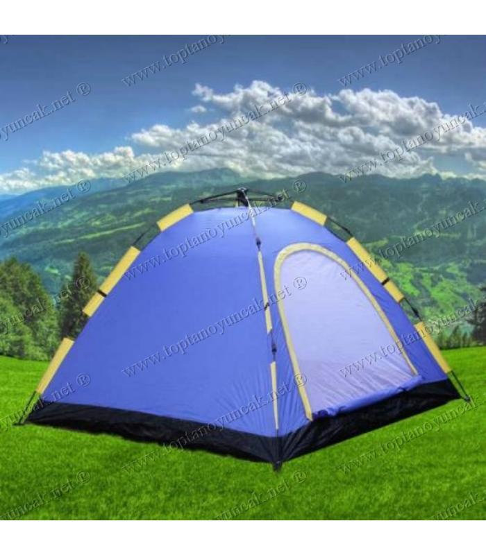Toptan 3 kişilik otomatik açılan kamp çadırı