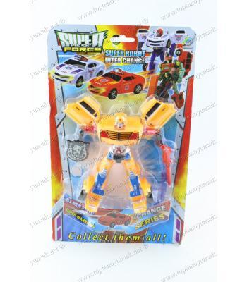 Toptan oyuncak robot olan araba tekli kartela ucuz fiyat