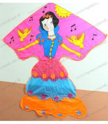 Toptan ucuz prenses uçurtma büyük boy satış fiyatları 140 cm