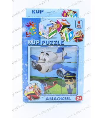 Toptan promosyon eğitici ana okulu oyuncak küp puzzle fiyat