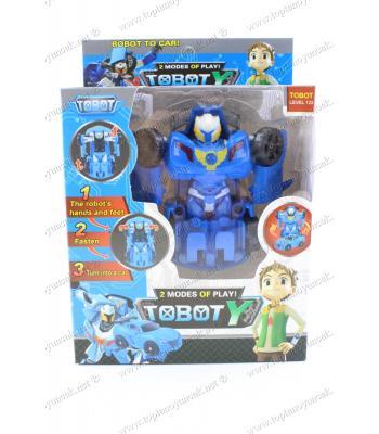 Toptan robot olan oyuncak dönüşen araba