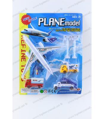 Toptan ucuz oyuncak uçak hava alanı set