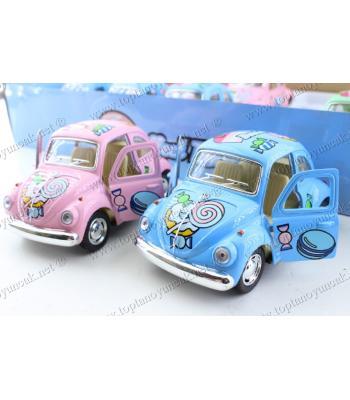Toptan ucuz oyuncak vosvos araba metal kapıları açılır çek bırak 10 cm