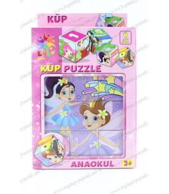 Toptan eğitici oyuncak blok küp puzzle kız çocuk için
