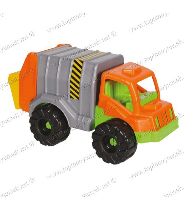 Toptan oyuncak plastik çöp kamyonu
