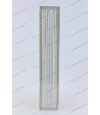 Toptan doğum günü pasta mumu 30 cm beyaz 8 li paket