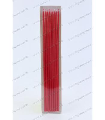 Toptan 8 li 30 cm pasta mumu kırmızı