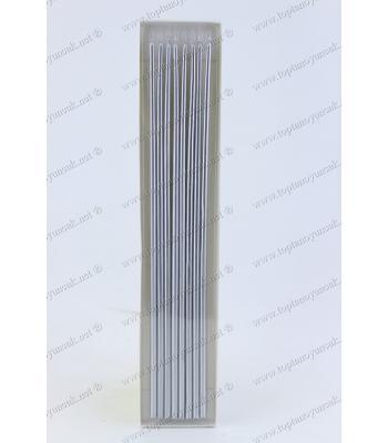 Toptan ucuz pasta mumu 30 cm metal renk 8 li paket