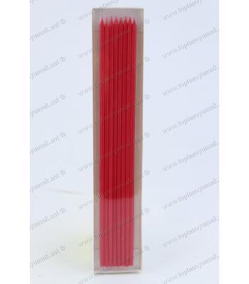 Toptan parti doğum günü mumu 35 cm kırmızı