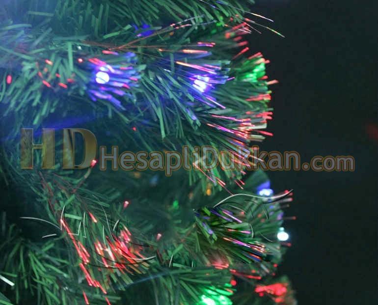 Işıklı yılbaşı ağacı