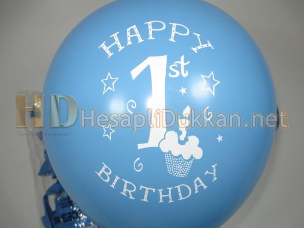 1 yaş balonları